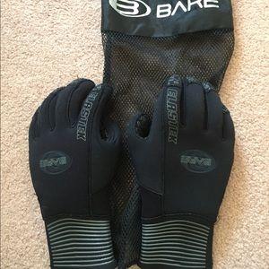 Bare Elastek 5mm wetsuit gloves